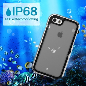 VIKING IP68 Waterproof Dust-proof Shock-proof Aluminum Alloy Cover for iPhone 8/7 4.7-inch - Silver