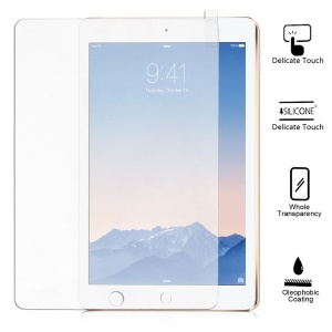 9H Straight Edge Anti-explosion Tempered Glass Screen Film for iPad Pro 9.7 / Air 2 (with Gold Packaging)