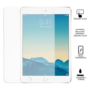 9H Anti-explosion Tempered Glass Screen Protector for iPad mini 3 / mini 2 / mini (with Gold Packaging)