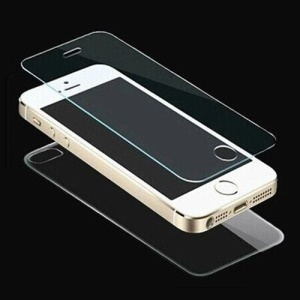 HAT PRINCE Tempered Glass Front & Rear Film for iPhone SE 5s 5 0.26mm 9H 2.5D Arc Edge