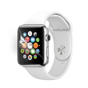 Ultra Clear LCD Screen Protector Film for Apple Watch 42mm