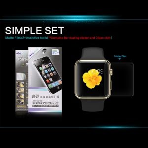 NILLKIN for Apple Watch 38mm Screen Protector, Anti-glare and Scratch-resistant
