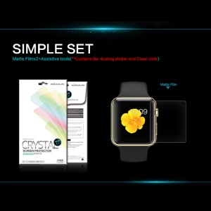 NILLKIN for Apple Watch 38mm Anti-fingerprint Clear Screen Film