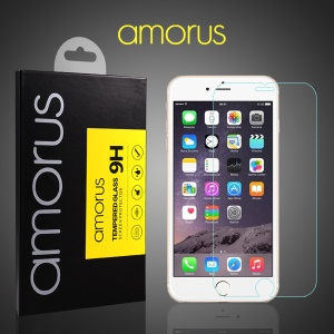 AMORUS HD Tempered Glass Screen Protector for iPhone 6s Plus / 6 Plus