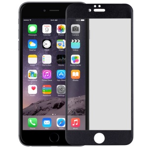 MOMAX for iPhone 6 6s Full Coverage 0.2mm Nanometer Curved Tempered Glass Screen Protector - Black