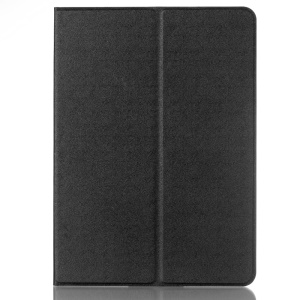 Flip Textured Smart Stand Leather Case para Samsung Galaxy Tab S2 9.7 T810 T815 - negro