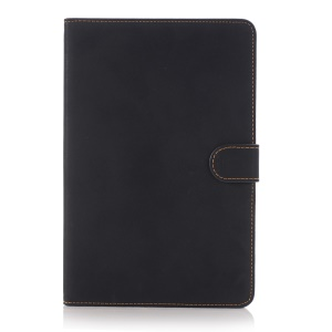 Retro Style PU Leather Flip Cover Case for iPad mini 4 - Black