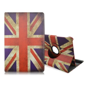 Rotary Stand Leather Cover for Samsung Galaxy Tab S2 8.0 T710 T715 - Retro UK Flag