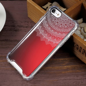 Epoxy Scratch-proof PC + Bayer 3695 TPU Hybrid Phone Case for iPhone 7 4.7 inch -  Mandala