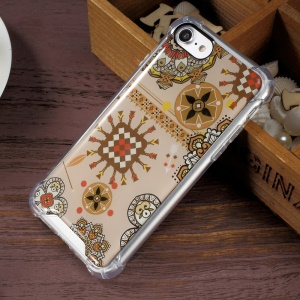 Epoxy Scratch-proof PC + Bayer 3695 TPU Combo Phone Cover for iPhone 7 4.7 inch - Geometric Patterns