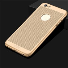 For iPhone 6 /6s Plus 5.5 inch MOFI Breathable Light Plastic Mobile Phone Cover - Gold