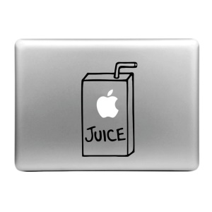 "ENKAY Decal Sticker for Macbook Air / Pro 11"" 13"" 15"" - Juice Bottle Pattern"