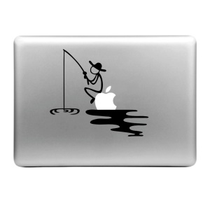 "Hat Prince Decal Sticker for Macbook Air / Pro 13"" 15"" - Fishing Pattern"