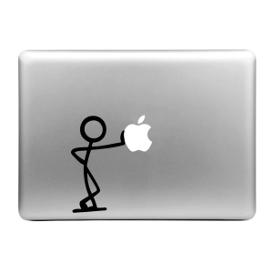"HAT PRINCE Creative Decal Sticker for MacBook 11.6"" 12"" 13.3"" 15.4"" - Leaning"