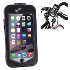 Bike Bicycle Handlebar 360-degree Rotary Mount Holder Case Bag for iPhone 6s 6 4.7 Inch