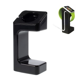 Plastic Displaying Stand Holder Mount for Apple Watch - Black
