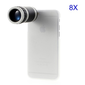 8X Zoom Telescope External Phone Camera Tele-Converter Lens for iPhone 6