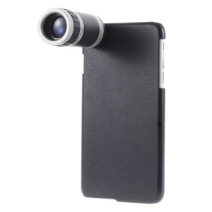 8X Zoom Telescope Telephoto Lens with Back Case for iPhone 6 Plus 5.5-inch