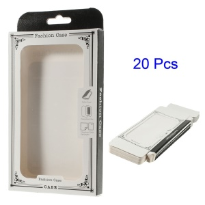 20Pcs/Lot Protective Paper Package Box for iPhone 6 Plus Phone Cases, Size: 17.2 x 10.2 x 1.6cm