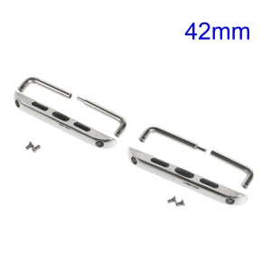 Replacement Metal Band Axle Connector Clasp for Apple Watch 42mm Series 3 / 2 / 1