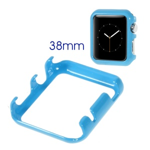 Glossy Hard Cover Shell for Apple Watch 38mm - Blue