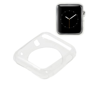 TPU Protective Cover for Apple Watch 42mm - Transparent