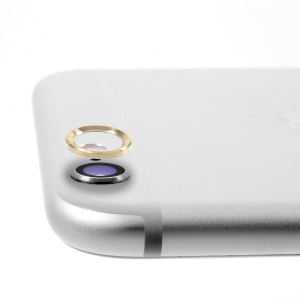 Camera Lens Protective Metal Circle for iPhone 6 Plus 5.5 - Champagne
