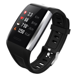 1.3 inch LCD Waterproof Smart Watch Q7 Smart Bracelet Heart Rate Fitness Tracker for IOS Android - Black