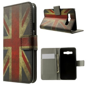 Vintage Union Jack Flag Wallet Leather Stand Cover for Samsung Galaxy A3 SM-A300F