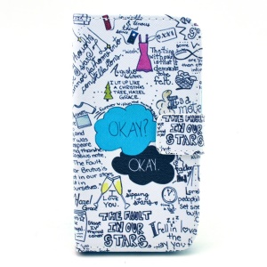 For Samsung Galaxy Core LTE G386F / Avant G386T Leather Case Card Holder - The Fault in Our Stars