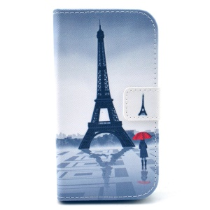 Paris Eiffel Tower for Samsung Galaxy Core Plus G3500 G3502 Wallet Leather Stand Cover