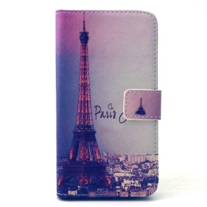 Famous Eiffel Tower Wallet Leather Stand Case for Samsung Galaxy S6 G920