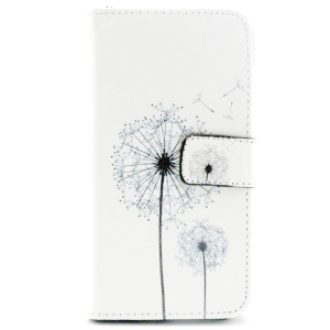 Dandelion Pattern Wallet Leather Stand Case for Samsung Galaxy S6 G920