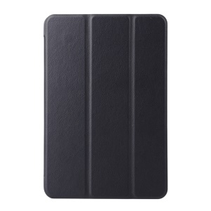 Tri-fold Stand Smart Leather Case for Samsung Galaxy Tab A 8.0 T350 - Black