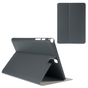 Sand-like Texture Smart Leather Cover for Samsung Galaxy Tab A 9.7 T550 T555 with Stand - Grey