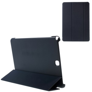 Smart Leather Cover for Samsung Galaxy Tab A 9.7 T550 T555 with Tri-fold Stand - Dark Blue