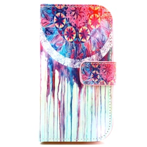 Wallet Leather Phone Case for Galaxy Ace Style LTE G357FZ / Ace 4 SM-G357FZ - Dream Catcher
