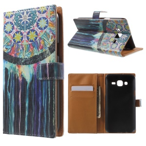 Wallet Leather Cover for Samsung Galaxy J5 SM-J500F - Dream Catcher