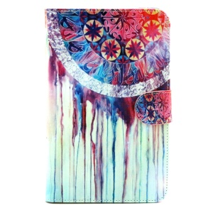 Wallet Leather Stand Case for Samsung Galaxy Tab 3 Lite 7.0 T110 T111 - Dream Catcher