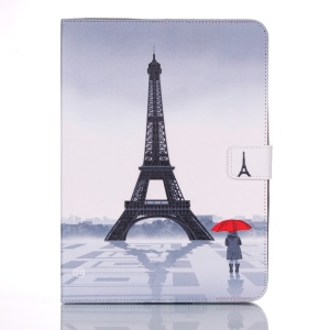 Smart Leather Case with Stand for Samsung Galaxy Tab 4 10.1 T530 - Famous Eiffel Tower