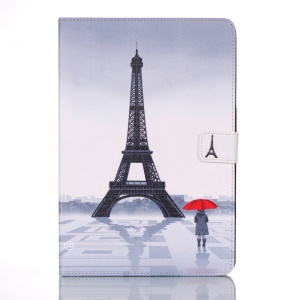 Smart Leather Stand Case for Samsung Galaxy Tab A 9.7 T550 T555 - Famous Eiffel Tower