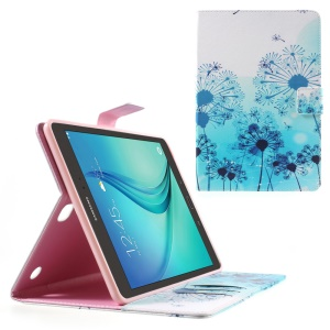 Wallet Leather Cover for Samsung Galaxy Tab A 9.7 SM-T550 - Blue Dandelion