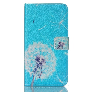 Wallet Leather Case for Samsung Galaxy S5 G900 - Flying Dandelion