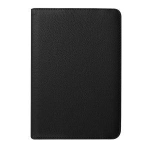 Litchi Texture Rotary Stand Leather Case for Samsung Galaxy Tab S2 8.0 - Black