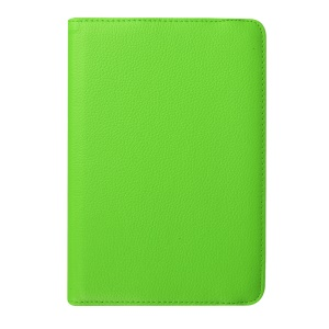 Lychee Grain PU Leather Stand Case for Samsung Galaxy Tab S2 8.0 - Green