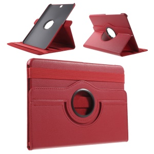 Rotary Stand PU Leather Cover for Samsung Galaxy Tab S2 9.7 T810 T815 - Red
