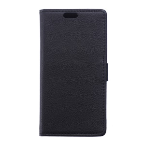 Lychee Wallet Leather Case for Samsung Galaxy Trend 2 Lite G318H / V Plus SM-G318 - Black