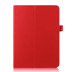 Lychee Leather Smart Case Stand for Samsung Galaxy Tab S2 9.7 T810 T815 - Red