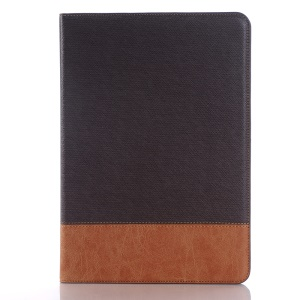 Linen Skin Smart Leather Flip Cover for Samsung Galaxy Tab S2 9.7 T810 T815 - Coffee