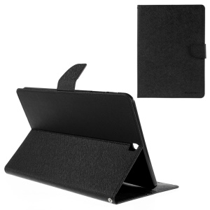 MERCURY GOOSPERY Leather Wallet Case for Samsung Galaxy Tab S2 9.7 T810 T815 - Black